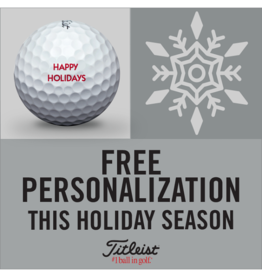 Titleist Titleist Holiday Personalization