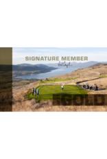 The Rise 2021 Signature Club Gold Membership