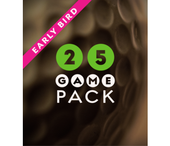 2022 25 Game Pack - Early Bird