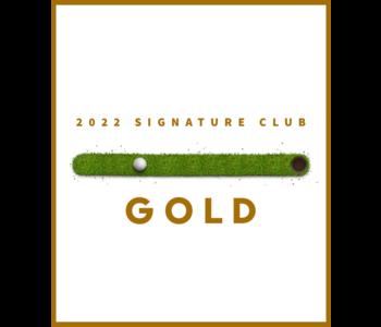 2022 Signature Club Gold Membership