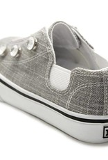 Made To Be Gray Sparkle Dash Clear Rhinestones