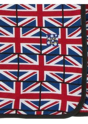 Kickee Pants Union Jack Swaddle