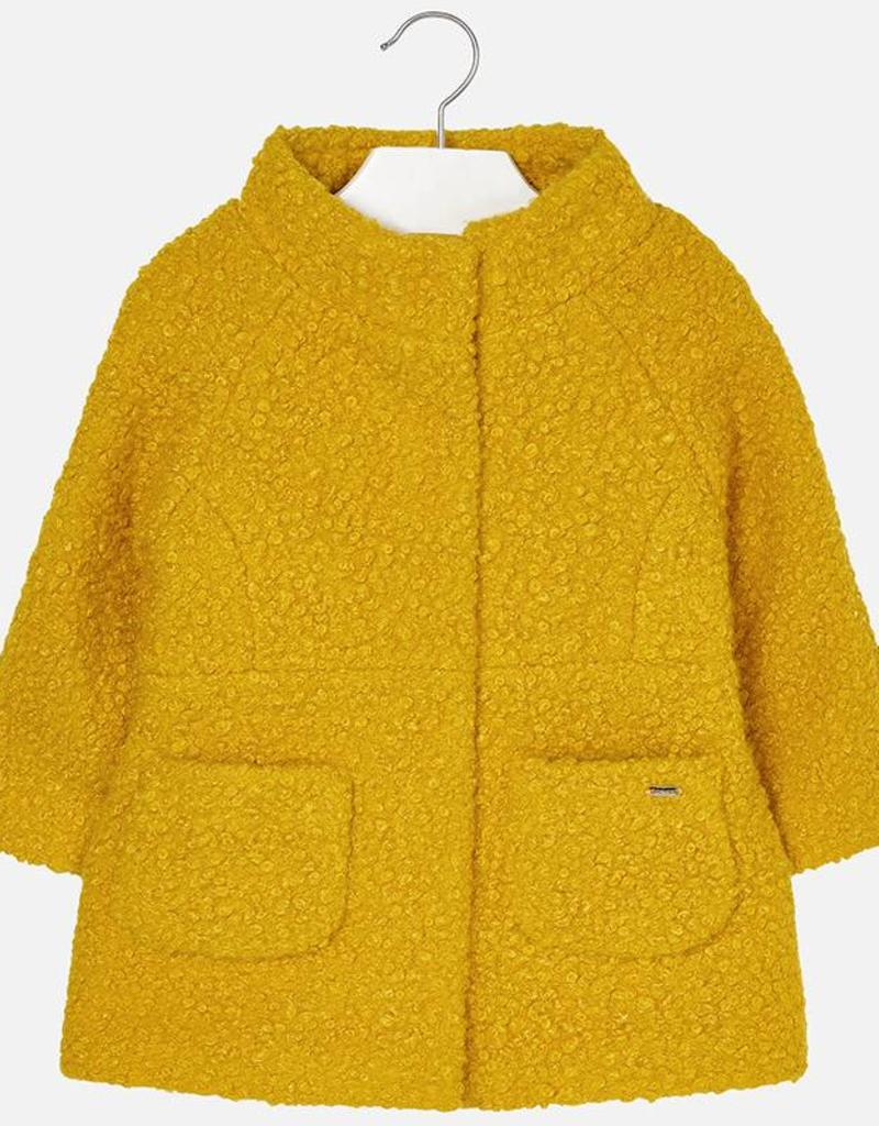 Mayoral USA Curry Boucle Coat