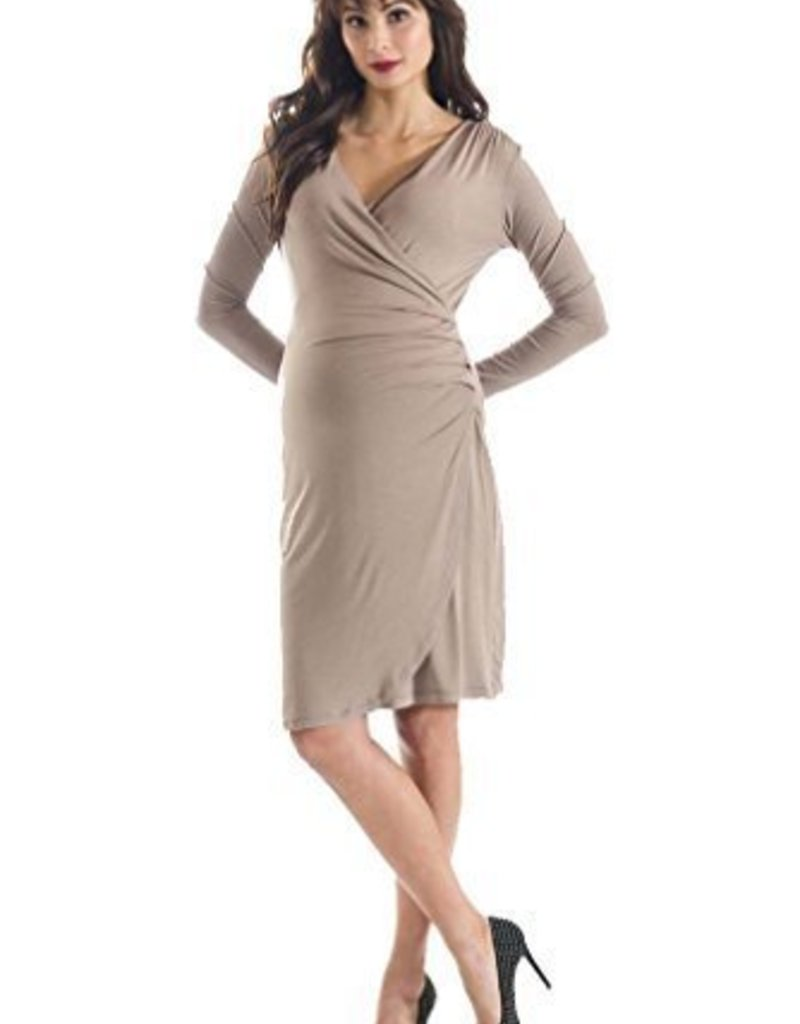 Taupe Brynley Dress  M