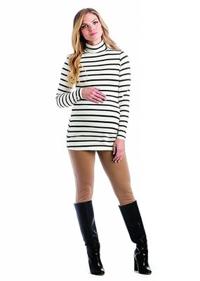 Black Stripe Lucy Top  XLarge