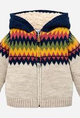 Mayoral USA Jacquard Knit Sweater