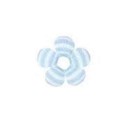 Zubels Blue Stripe Flower Rattle