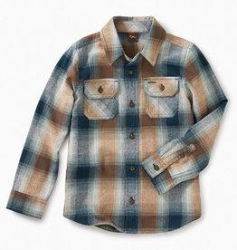 Tea Collection Flannel Plaid Button Shirt