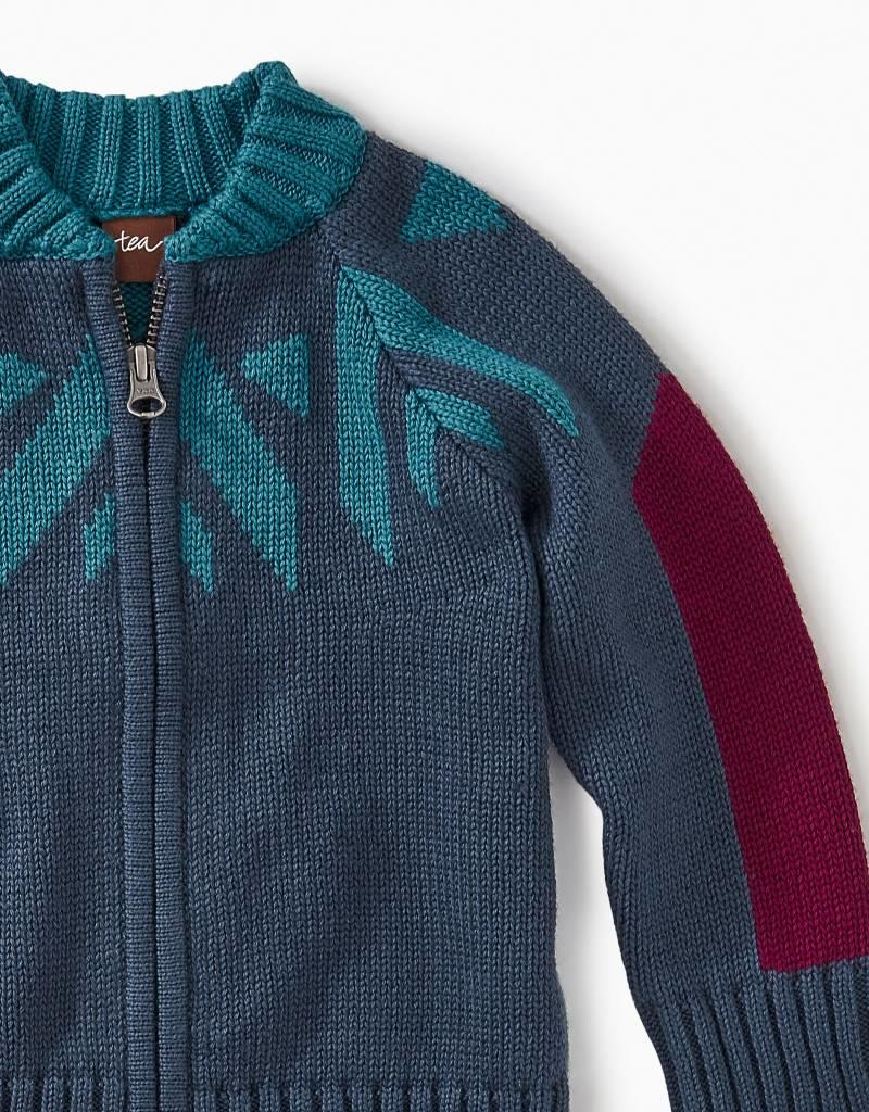 Tea Collection Denali Zip Cardigan