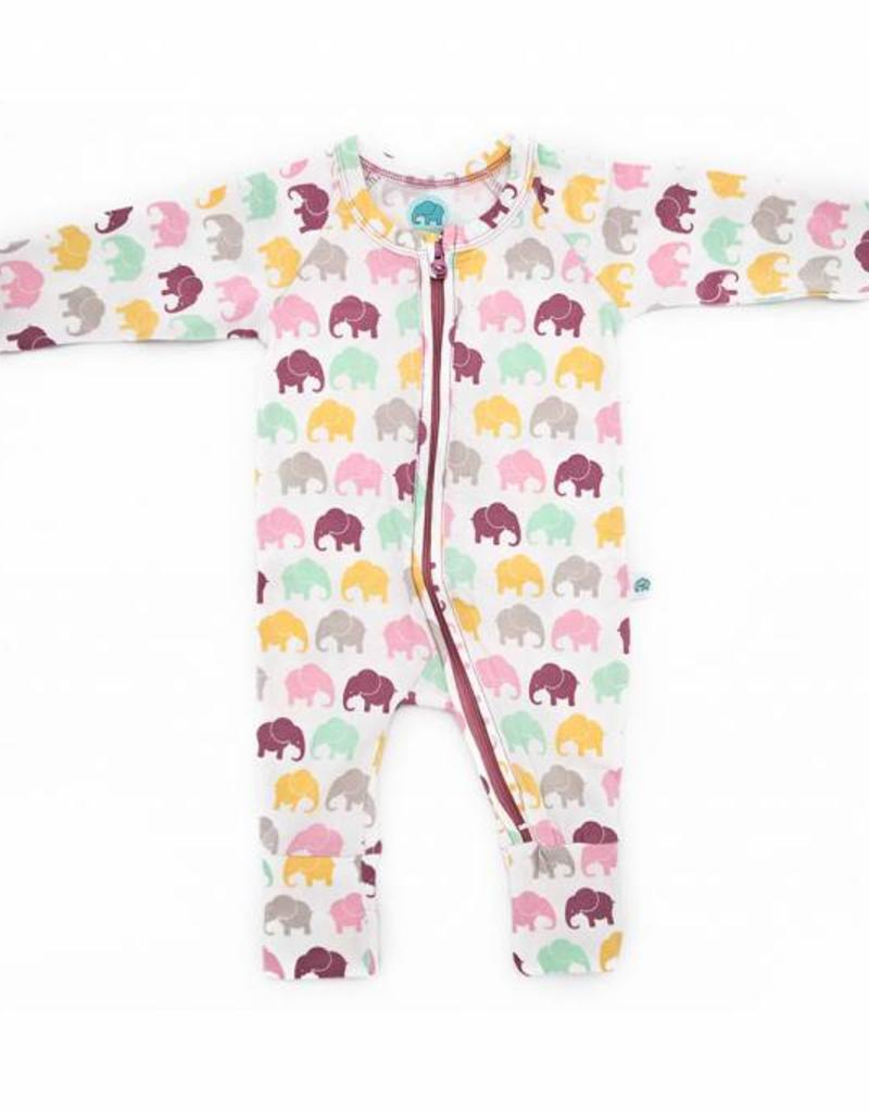 Elephant Moon LLC super soft sleepsuit