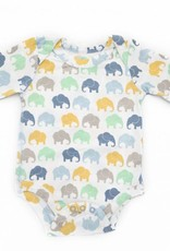 Elephant Moon LLC grow with me long sleeve onesie