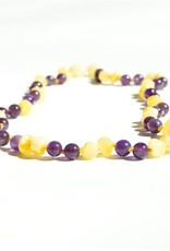 The Amber Monkey Baltic Amber & Gemstone Necklace