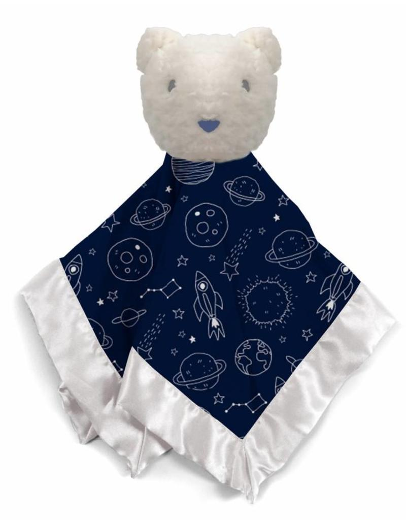 Magnificent Baby Dark Blue Outerspace Lovey