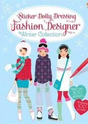 Usborne Books Winter Fashion Design Stickers
