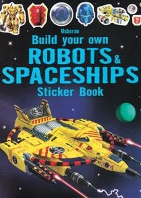 Usborne Books Build Spaceship Sticker Books