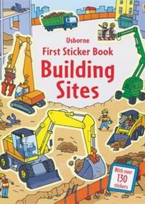Usborne Books Building Sites Sticker Book
