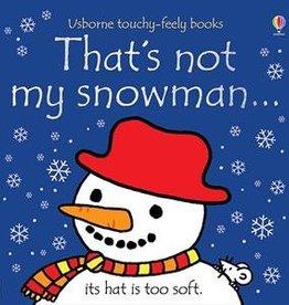 Usborne Books That's Not My Snowman Snowman