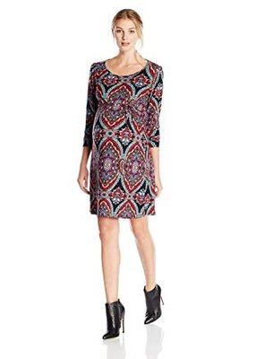 Paisley Shift Dress  Large