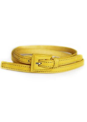 Yellow Logan Belt  S/M