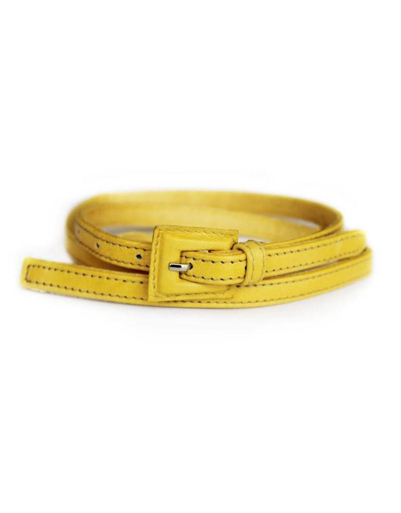 Yellow Logan Belt  M/L