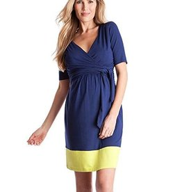 Enja Colourblock Nursing Dress  2