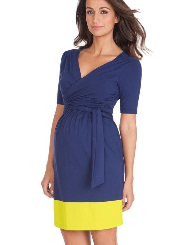 Enja Colourblock Nursing Dress  2