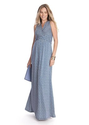 Emory Blue Maxi Dress  2