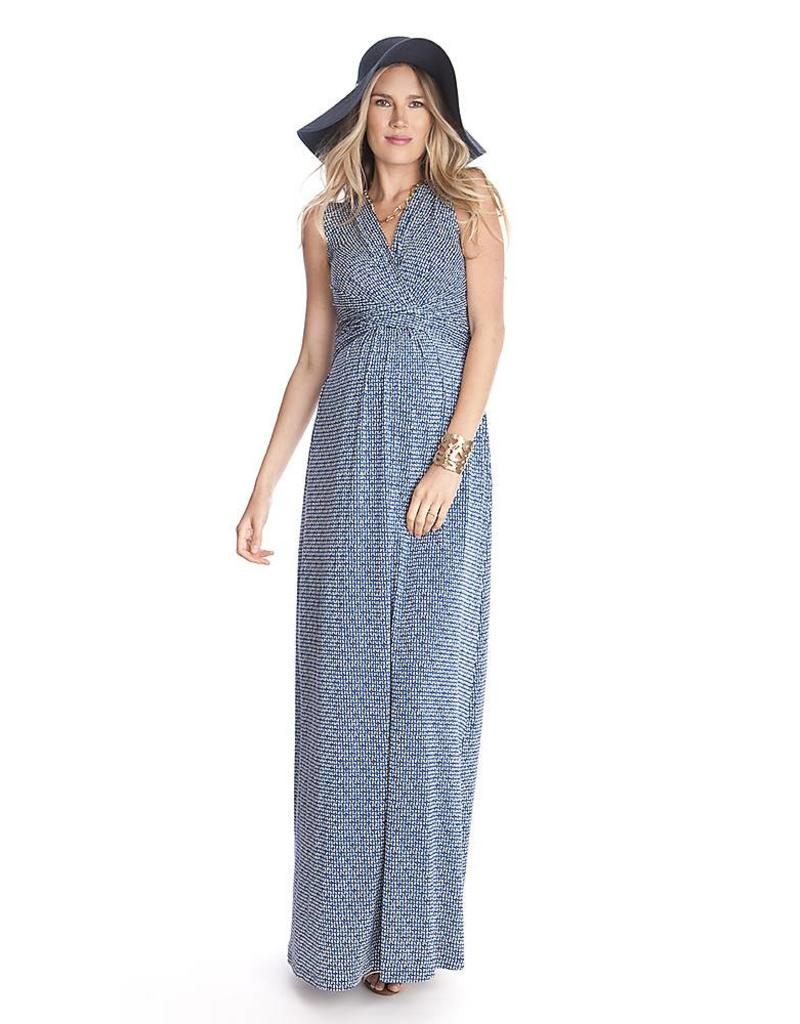Emory Blue Maxi Dress  2