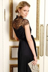 Black Chelsey Lace Gown  4