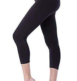 Black Holi Crop Leggings  L/XL