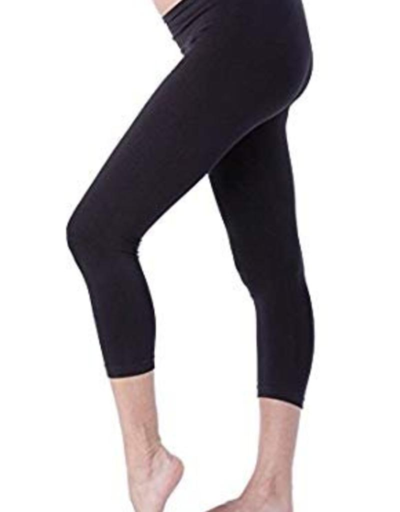 Black Holi Crop Leggings  L/XL
