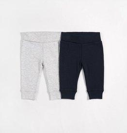 Petit lem navy and grey pant set