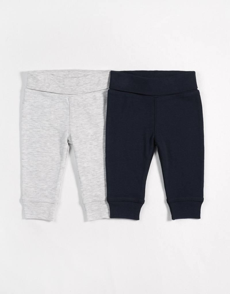 Petit lem navy and grey pant set
