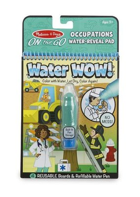 Melissa & Doug, LLC On The Go Water Wow: Occupations