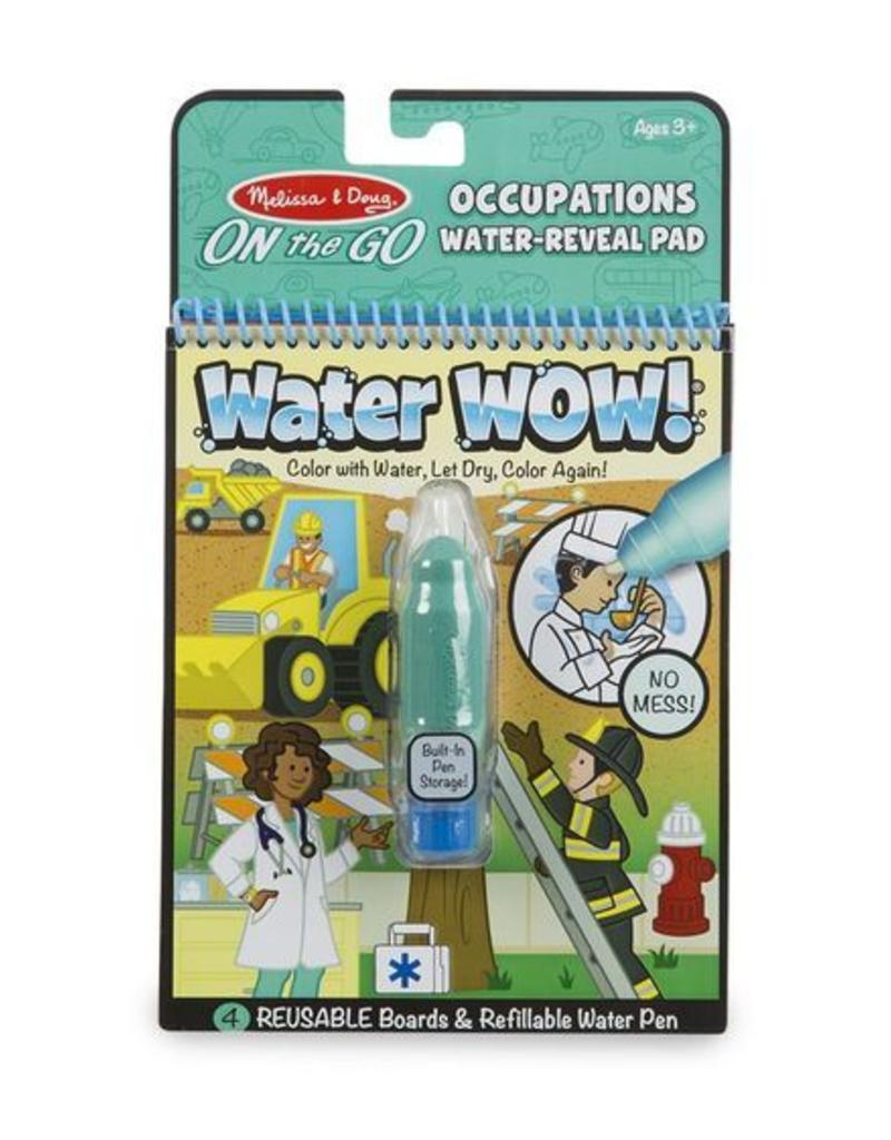 On The Go Water Wow: Occupations