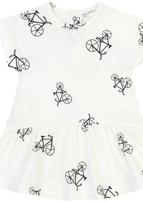 Petit lem White Bike Dress