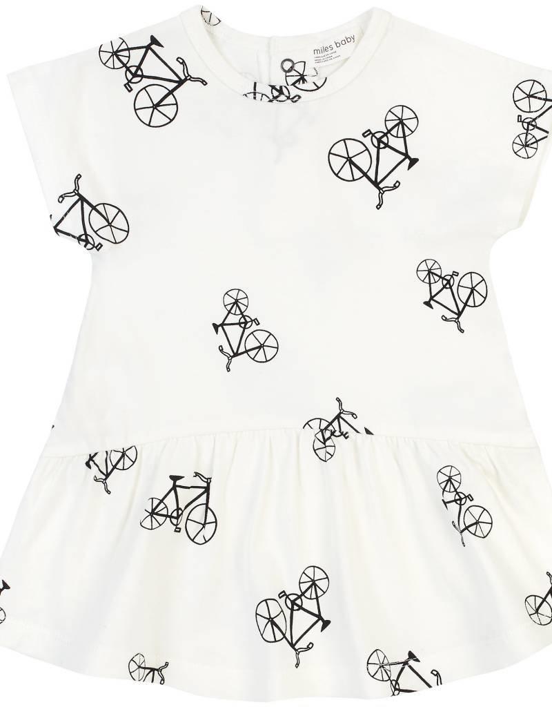 Petit lem White Bike Dress