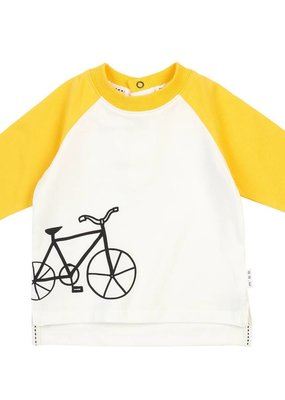 Petit lem White Bike Tee