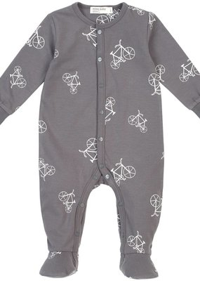 Petit lem Grey Bike Footie