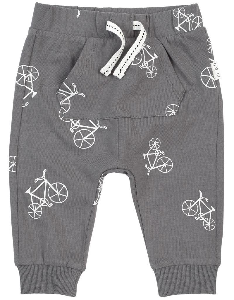 Petit lem Grey Bike Knit Pants