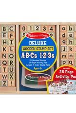 Melissa & Doug, LLC Wooden ABC Activity Stamp Set