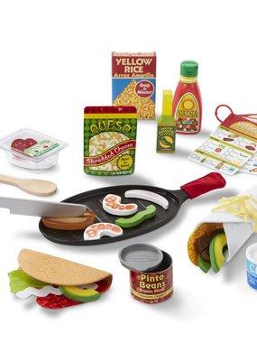 Melissa & Doug, LLC Fill & Fold Taco & Tortilla Set
