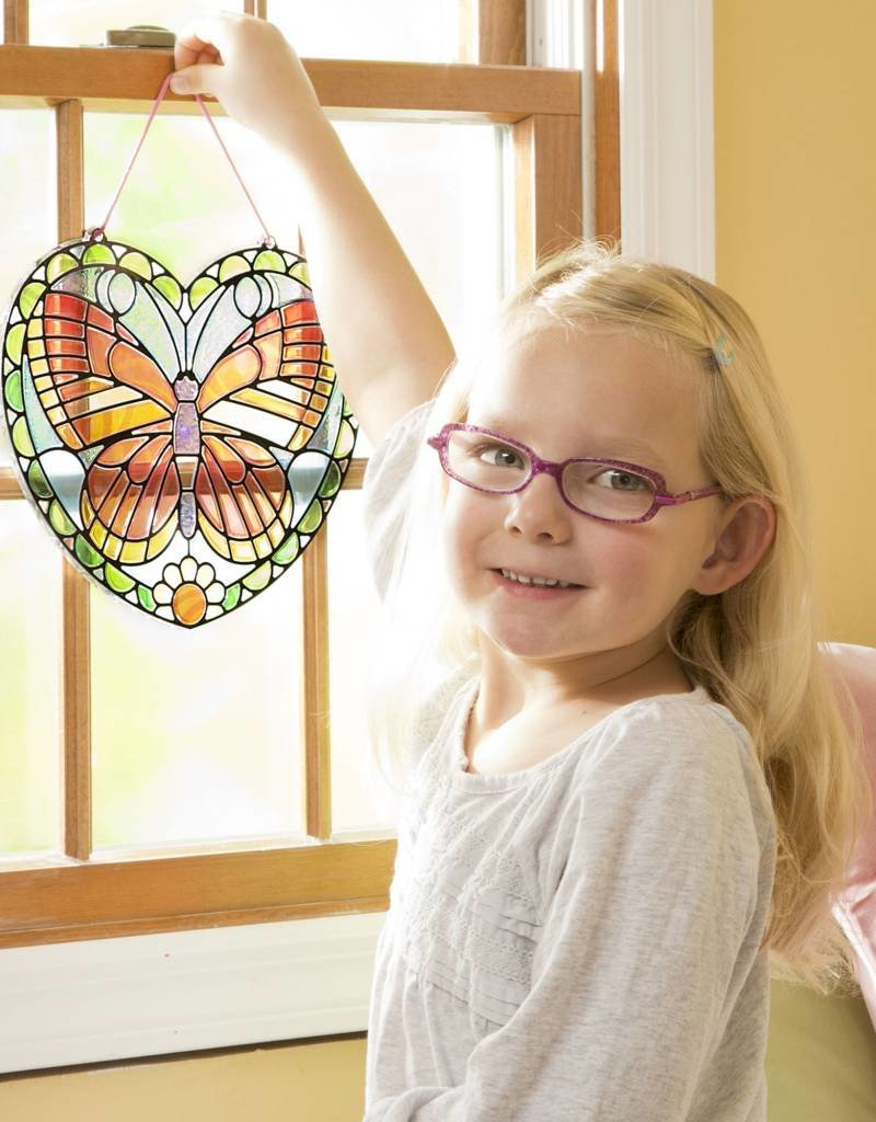 Melissa & Doug, LLC Butterfly Stained Glass