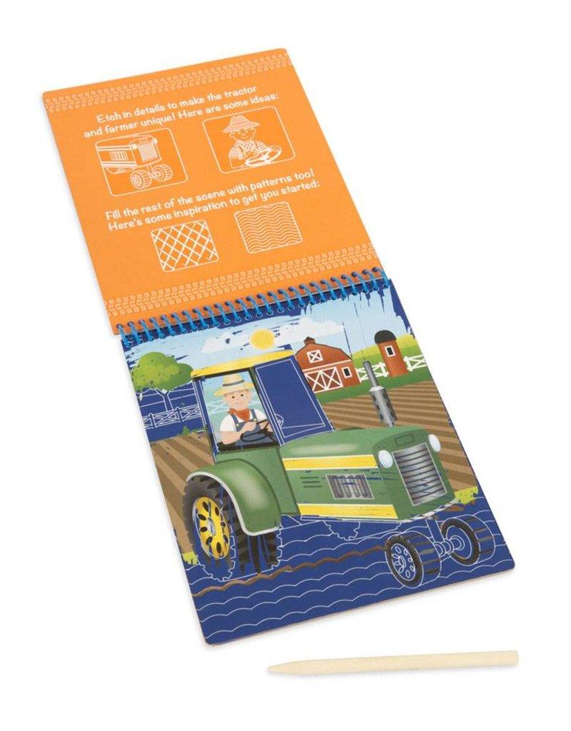 Melissa & Doug, LLC Vehicle Color Reveal Pad