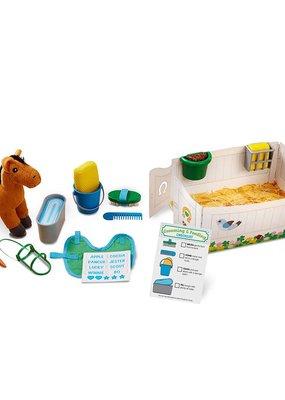 Melissa & Doug, LLC Feed & Groom Horse Care Play Set