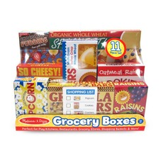 Melissa & Doug, LLC Let's Play House! Grocery Shelf Boxes