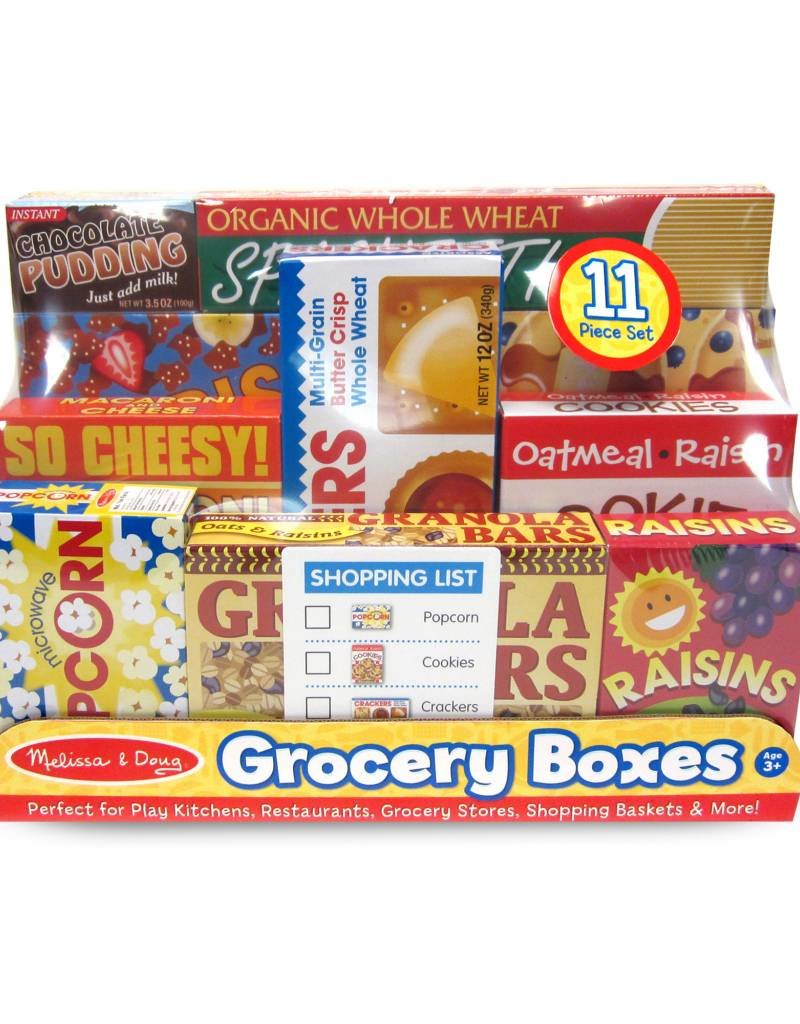 Melissa & Doug, LLC Let's Play House! Grocery Shelf Boxes