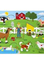 Melissa & Doug, LLC Old MacDonald's Farm Sound Puzzle