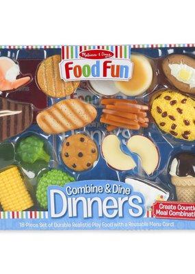 Food Fun Combine & Dine Dinners-Blue