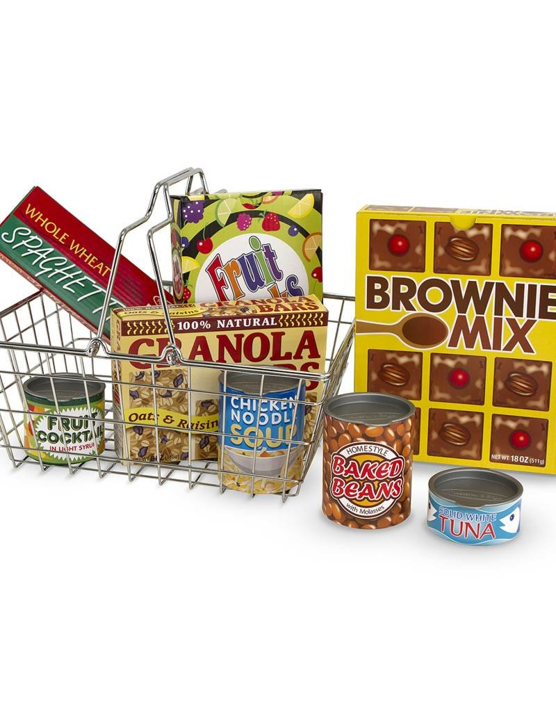Melissa & Doug, LLC Let's Play House! Grocery Basket
